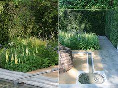 Luciano Giubbilei's garden for Laurent-Perrier 2014