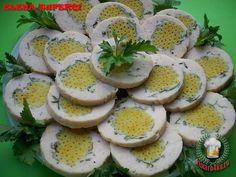 «Куриный рулет с макаронами» - Простые рецепты Овкусе.ру