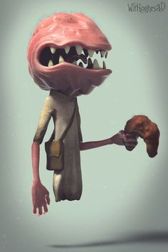 ArtStation - Testicle Monster and Chris, Wil Hughes