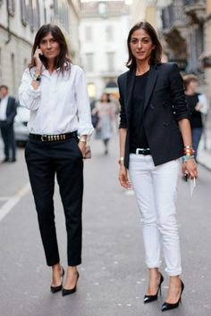 Emmanuelle Alt. Re-pin if you like. Via Ellesilk.com #fashion