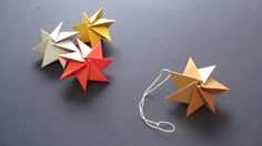 [How to ORIGAMI] Ornament Christmas Star