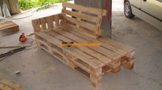 Simple Construction / Simple Construction: Construction Recliner - From Pallets