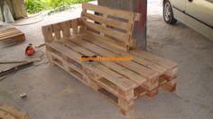 Απλές Κατασκευές / Simple Construction: Κατασκευή Ανάκλιντρου - 2θέσιου - πολυθρόνα - πίνακες - διακοσμητικά κ.α. στο σαλόνι μου όλα από παλ...