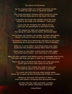 greg olsen poem santa jesus christ christmas poems christian christmas jesus christmas