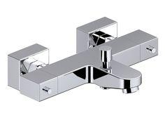 Grifo de lavabo square ref 16392040 leroy merlin caja for Grifo termostatico ducha leroy merlin