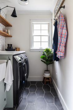 Small & Functional Laundry Room Reveal - Living Letter Home Neutral Paint Colors, Room Paint Colors, Paint Colors For Home, Laundry Room Organization, Laundry Room Design, Laundry Rooms, Mud Rooms, Laundry Closet, Art Design