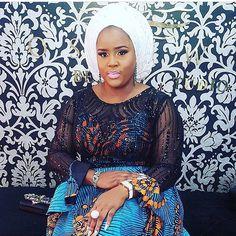 Pretty @simbbyhouseoffab  #asoebi #asoebispecial #speciallovers #makeup #wedding Lace Dress Styles, African Lace Dresses, Latest African Fashion Dresses, African Dresses For Women, African Print Fashion, Africa Fashion, African Wear, African Attire, African Prints