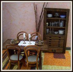 Paso a paso: Mesa sencilla y mueble aparador.