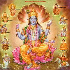 Lord Vishnu is one of the principal deities forming the Hindu trinity & also the Supreme Being in Vaishnavism. Here is a collection of Lord Vishnu Images. Hare Krishna, Señor Krishna, Lord Vishnu, Lord Ganesha, Lord Shiva, Indian Gods, Indian Art, Eyes Closed, Lord Rama Images