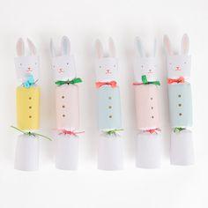Des crackers pour s'amuser à Pâques / Décoration de paques my little day