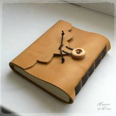 Papiernictvo - Praktický kožený zápisník (A6-) - 5027280_