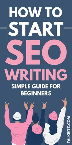 How to Start SEO Writing: Simple Guide for Beginners!  What is SEO Writing? SEO is Search Engine Optimization. SEO writing (or writing for SEO) is a specific way of writing to get attention from search engines using a particular word or phrase.  In this article, I will walk through by showing you about essential SEO writing factors that I learned from my blog journey from the beginning. Let's start SEO writing in the right way to grow your blog in 2020!  #SEO #SEOwriting #SEOforbloggers