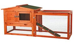 Extra-Small Rabbit Enclosure with Outdoor Run - The Home Depot - TRIXIE ft. Extra-Small Rabbit Enclosure with Outdoor Run Hutch - Rabbit Hutch Plans, Outdoor Rabbit Hutch, Rabbit Hutches, Indoor Rabbit, Rabbit Cages, Bunny Cages, Small Rabbit, Pet Rabbit, Rabbit Pen