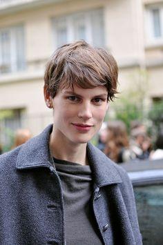 Saskia De Brauw, Paris Fashion Week