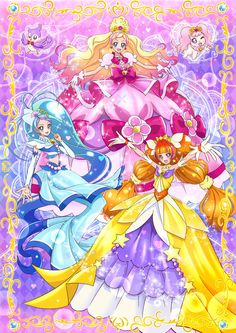 heartcatch precure and miraculous ladybug - Google Search