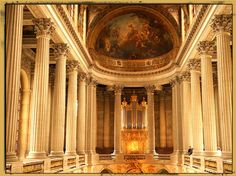Here's our photograph of the Royal Chapel inside the Palace of Versailles. To see the large view and a neat virtual tour, click here: http://www.theroamingboomers.com/royal-chapel-palace-of-versailles/