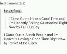 Emo Band Memes, Emo Bands, Music Bands, Music Humor, Music Memes, Funny Music, Pop Punk, He's Mine, Stupid Funny Memes