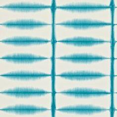 Scion Shibori Behang Het Scion Shibori heeft een rechthoekig patroon gemaakt met behulp van een oude Japanse dye-resist-techniek.  Collectie:  Scion Wabi Sabi behangcollectie Design name: Scion Shi...
