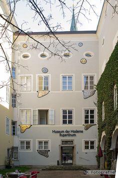 Museum of modern arts, Salzburg, Austria, by Friedensreich Hundertwasser