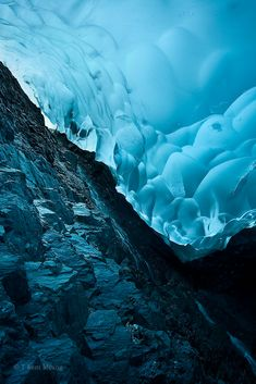Otherworldly Photos Taken Underneath Mendenhall Glacier - My Modern Metropolis