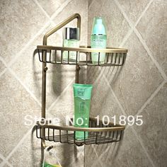 56.78$  Watch here - http://aliw6g.worldwells.pw/go.php?t=1816183206 - Retail - Luxury Brass Bathroom Shelves, Bronze Color and Wall Mounted Bathroom Holder, Free Shipping L14204 56.78$