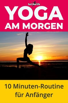 Yoga am Morgen fördert deine Gesundheit und Fitness. Mit der 10 Minuten-Routine… Yoga in the morning promotes your health and fitness. With the routine for yoga beginners you start relaxed and fresh in the day. So you better manage… Continue Reading → Yoga Fitness, Fitness Workouts, Physical Fitness, Health Fitness, Easy Fitness, Fitness Motivation, Physical Exercise, Exercise Motivation, Yoga Beginners