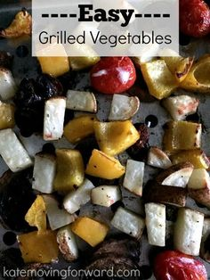 A quick, healthy side dish perfect for summer grilling season! Just two ingredients and then veggies. You can get creative with the combos or keep it simple. Love this recipe!!!
