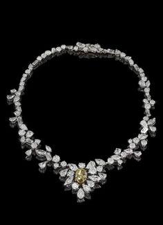 De Beers Platinum Necklace
