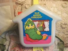 "Playskool ""GLO Worm"" Criblight"