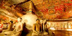 Dambulla is the largest and best-preserved cave temple complex in Sri Lanka. The rock towers 160 m over the surrounding plains.There are more than 80 documented caves in the surrounding area.visit http://www.srilankaclassytours.com  #lankaclassytours #dambullacave #buddhistsites #holidays