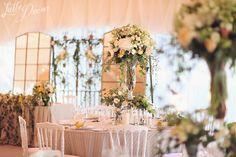 """Romantic rustic garden""   Decor and floral by LatteDecor; Organization by AjurWedding."