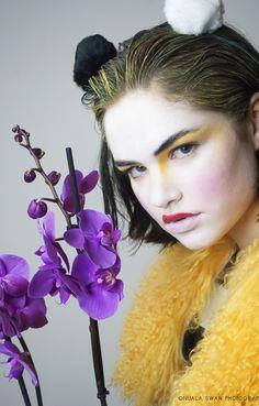 Kelli McGuiness fur coat published on Artandhaze.com #fashion #design #editorial #kellimcguinness