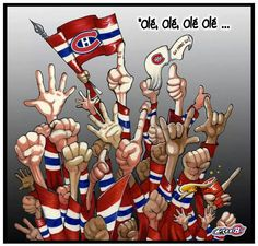 go hab go montreal canadians Montreal Canadiens, Hockey Teams, Hockey Players, Ice Hockey, Hockey Stuff, Stanley Cup, Nhl, Hockey Quotes, El Salvador