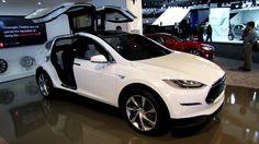Nice Tesla 2017: 2014 Tesla Model X - Exterior and Interior Walkaround - 2013 Detroit Auto Show Check more at http://24cars.top/2017/tesla-2017-2014-tesla-model-x-exterior-and-interior-walkaround-2013-detroit-auto-show/
