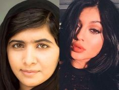 Is it fair to compare Kylie Jenner to Noble Peace Prize recipient Malala Yousafzai?
