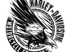 Lincoln Design Co. is a brand design and creative agency located in Portland, Oregon. Hd Design, Brand Design, Logo Design, Graphic Design, Harley Tattoos, Little Girl Photography, Harley Davidson Art, Angel Warrior, Harley Davison