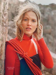Laura Julie - Elle Dinamarca Janeiro 2017 - Editoriais - Revistas de Moda