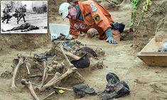 Bodies of German soldiers killed during WW2 Brandenburg battle found