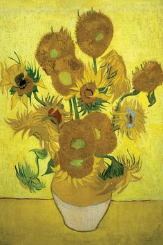 Sunflowers (Repetition Of The Fourth Versio... | Vincent van Gogh | iCanvas
