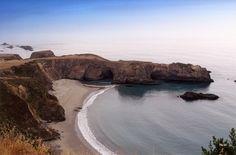 Pacific coast, south of Gualala, CA.