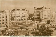pl. Unii Lubelskiej, koniec lat 40. (Warszawa Stolica Polski, Społeczny Fundusz Odbudowy Stolicy, 1949)
