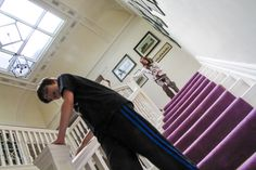 Stairwell games Hire our family home in the Lake District www.halecat.co.uk