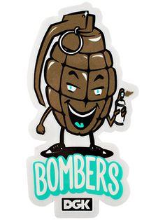 #DGK Bombers #Sticker $0.99 Jak & Daxter, Skate Surf, Jackson Pollock, Skateboard Art, Street Art Graffiti, Transparent Stickers, Logos, Logo Inspiration, Dark Art