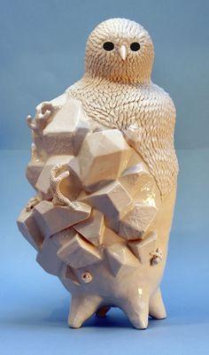ceramicsinspiration:  Sophie Woodrow is a Ceramic Artist based...