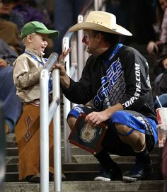 Wrangler Best Dressed Fan of the Night at #PBROKC.