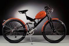 Le recyclage de vélos moteurs des années 50 en vélos électriques - https://www.2tout2rien.fr/le-recyclage-de-velos-moteurs-des-annees-50-en-velo-electriques/