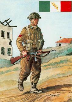 """Esercito Italiano di Liberazione - Caporalmaggiore del Gruppo di Combattimento """"Cremona"""""""