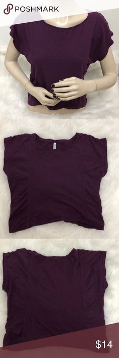 Aeropostale Top Description: Super cute. I think it is a little cropped.  ⚠️I always look through each item throughly once received and right before shipping, but things can be missed. Just let me know, so I can improve.⚠️  Measurement: Length from back of shirt top to bottom is 16in Arm pit to arm pit is 19in  ⚠️all measurements are an estimate⚠️  🚫NO TRADES/NO HOLDS🚫  Please ask questions❓  💜Thank you for checking out my closet and don't be afraid to submit an offer💜 Aeropostale Tops