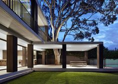 Beautiful terrace by B.E. Architecture.