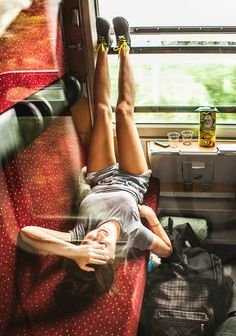Travelling by train to Balaton Sound. Festival travel experience starts upon departure! #travel #festival #festivaltrain